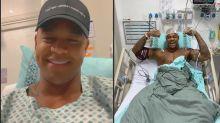 """Léo Santana agradece carinho após cirurgia no tornozelo: """"Obrigado a todos"""""""