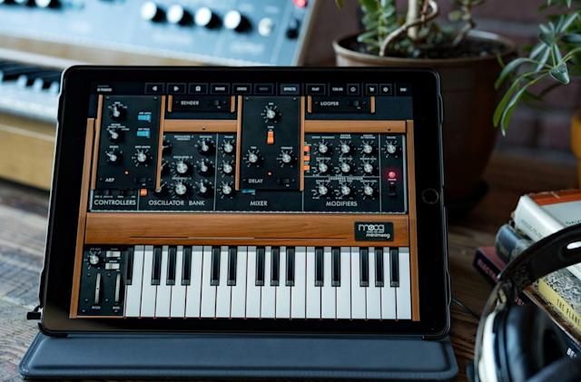 Moog and Korg make synth apps free to help musicians stuck at home
