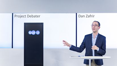 IBM's Project Debater is thrilling and terrifying