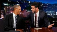 Obama trolls Trump over 'mean tweet' on late night TV