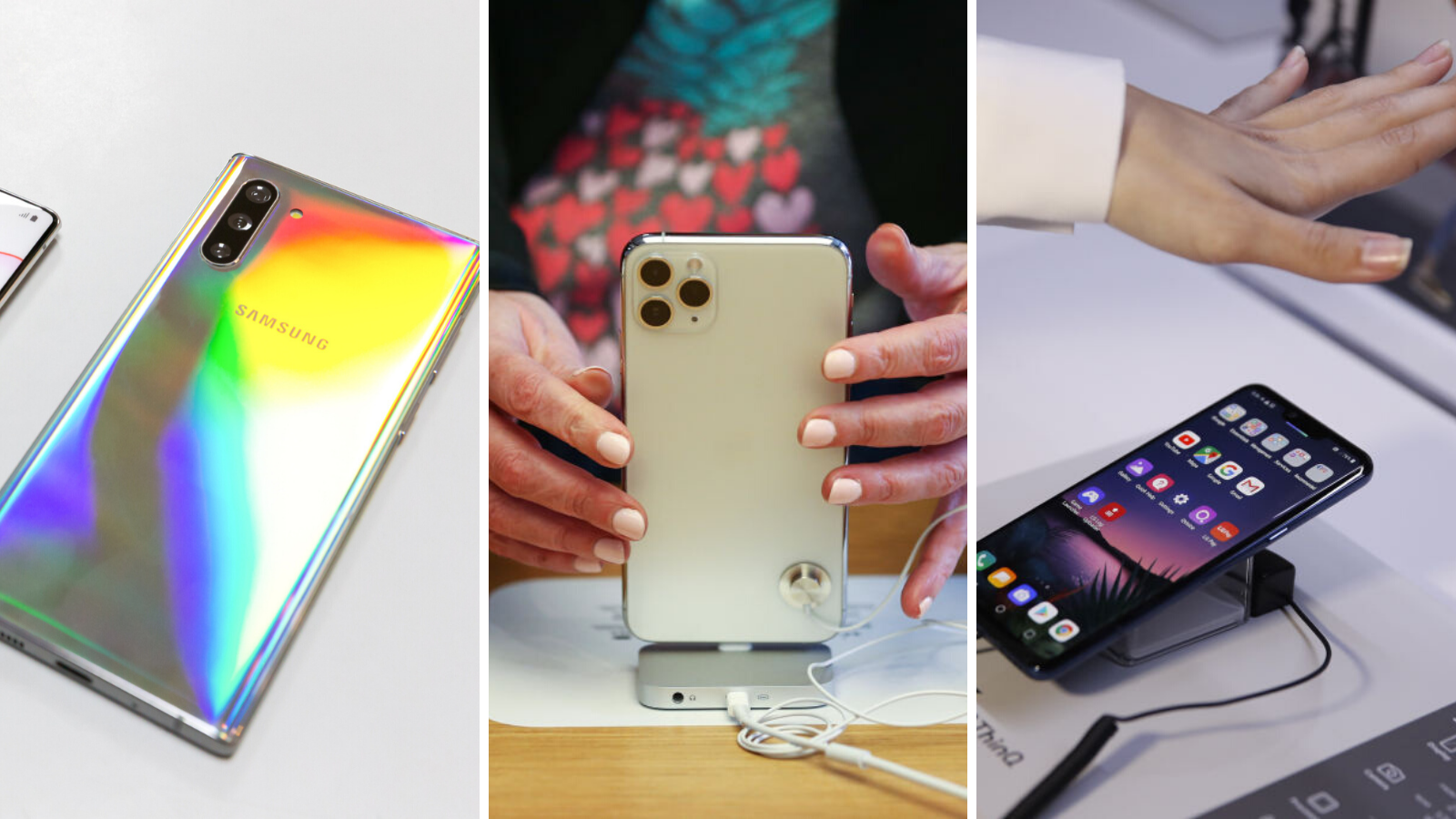 These are the smartphones with the best battery life