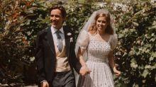 La princesa Beatriz también 'recicló' los zapatos para su boda