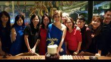 Veteran Singapore actress Zoe Tay had an early 50th birthday celebration