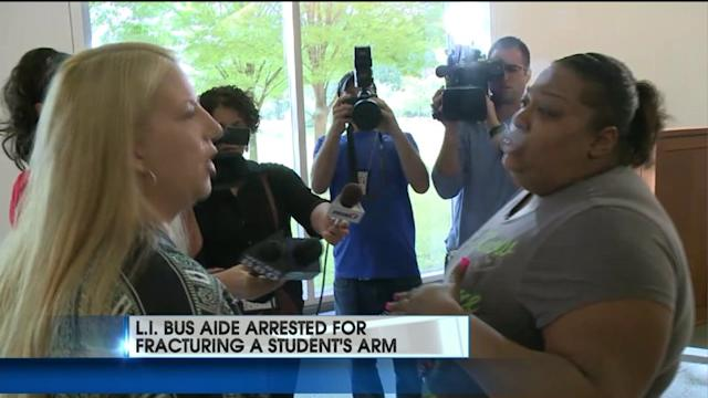 Bus Attendant Accused of Breaking 5-Year-Old`s Arm