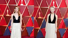 Who wore it better? Stars who wore near-identical Oscars dresses