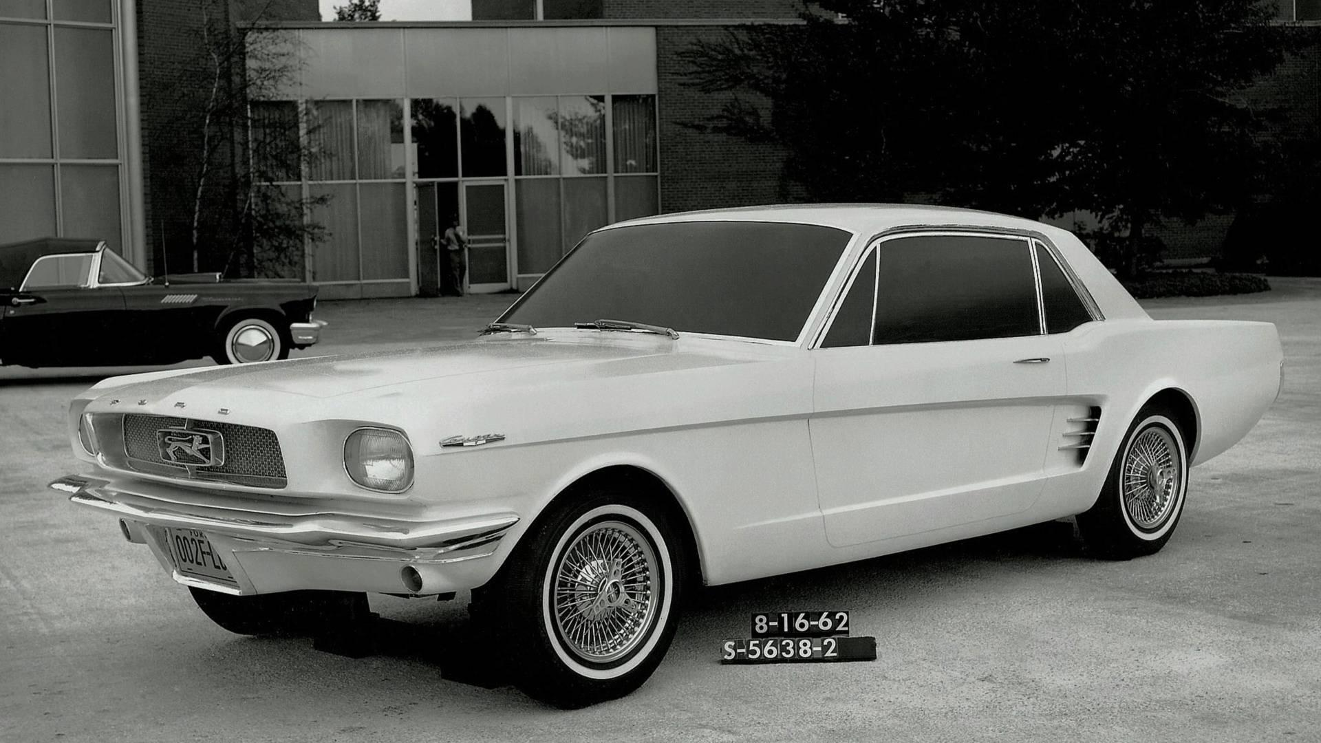 <p>The design that started the legacy is certainly familiar, but that's not a galloping horse in the grille. Ford held a design contest in the early 1960s for what would become the Mustang, but the winning shape was originally called the Cougar. We know the story from there, as the Mustang launched to considerable fanfare in 1964 and the Mercury Cougar would follow three years later.</p>