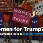 Trump campaign looks to mobilize women in 2020 battleground states