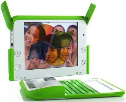 Negroponte suggests the OLPC can support Windows, may hit US schools