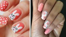 Somebunny Is Gonna Love This Easter-Inspired Nail Design