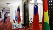 Taiwan says will 'not cower' as loses second ally in a month amid China pressure