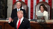 Trump Makes No Mention Of The Longest Shutdown In History In State Of The Union