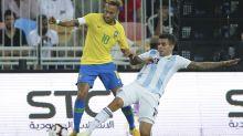 Brasil vence en último suspiro 1-0 a Argentina en amistoso