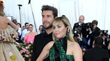 Miley Cyrus just joked that her marriage to Liam Hemsworth 'didn't last long'