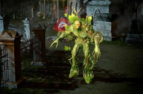 Infinite Crisis dredges up Swamp Thing