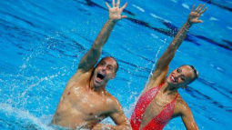 Synchronized - After wistfully watching Rio, men hope for Tokyo inclusion