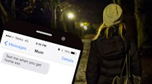 The chilling reality behind six-word text message