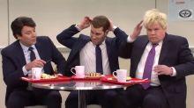 James Corden mocks Boris Johnson in his 'Saturday Night Live' debut