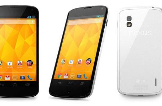 LG officially reveals the white Nexus 4, launches May 29th