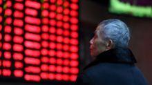 Asian shares erase gains after weak China GDP, pound pulls back