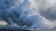Lava creeps onto geothermal plant site on Hawaii's Big Island
