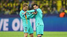 """Frenkie De Jong : """"Messi est toujours dans le groupe WhatsApp"""""""