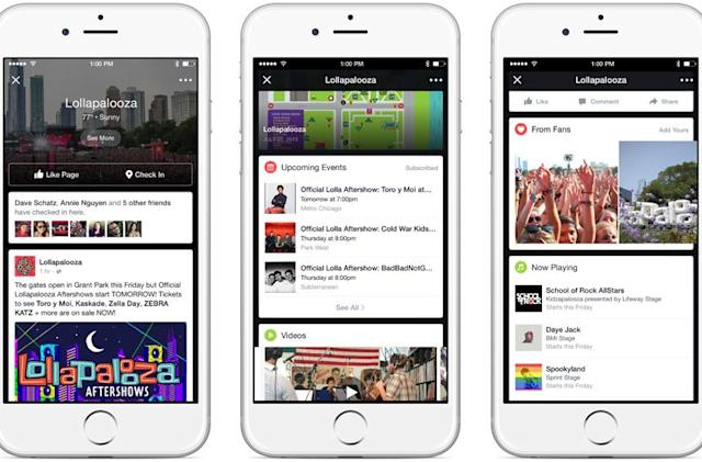 Facebook's Lollapalooza feed shows the festival you're missing