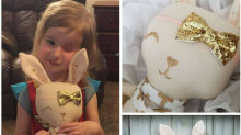 Crafter makes doll in likeness of young cancer survivor