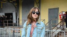 Dakota Johnson & Co.: Die Promis auf der Mailänder Fashion Week