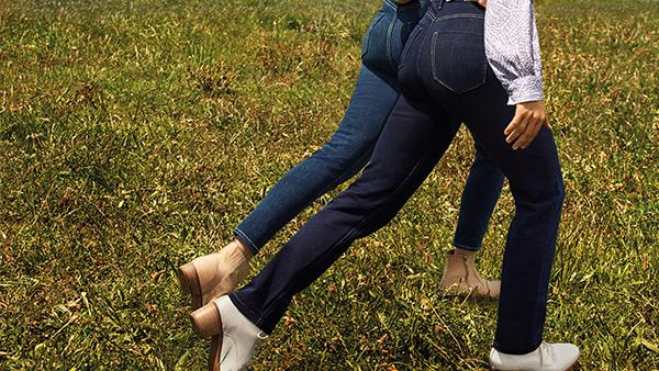 Marks and Spencer's sell-out 'magic jeans' with tummy flattening technology are back in stock