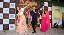 Pics: Tiger, Tara & Ananya Shake a Leg to Mumbai Dilli Di Kudiyaan