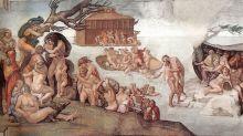 Historia del esqueleto de un pecador ahogado en el diluvio universal que resultó ser otra cosa