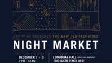 Lot No. 40 Rye Whisky Presents The New Old Fashioned Night Market