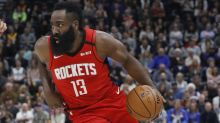 James Harden puts on a show