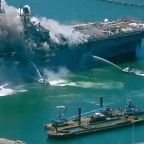 Officials investigating after 21 sailors, civilians hospitalized in San Diego naval ship explosion