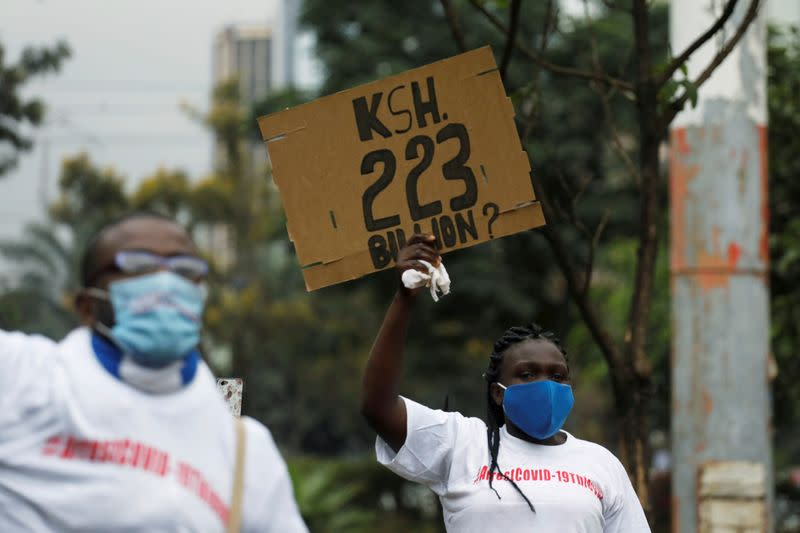 Kenya anti-graft agency slams procurement of COVID-19 equipment