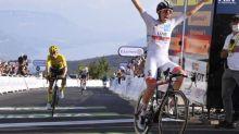 Tour de France - Tour de France: Tadej Pogacar s'impose au Grand Colombier, Primoz Roglic reste en jaune