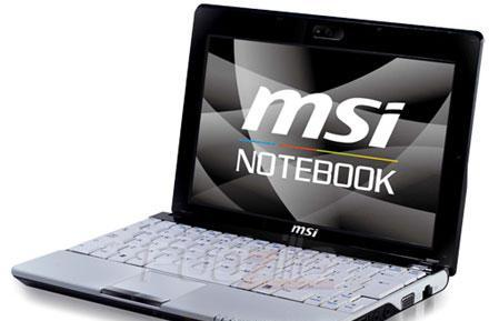 MSI's Wind U120 netbook gets pictured