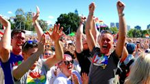 Australians celebrate same-sex marriage vote