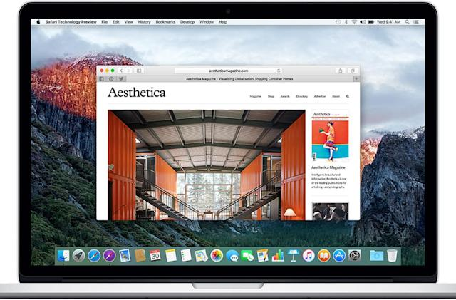 Apple's latest Safari browser is built for developers