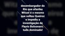 #Verificamos: É falso que 'desembargador' que afastou Witzel foi responsável por conceder prisão domiciliar a Queiroz