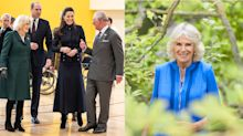Duchess of laughter! Prince William and the Queen share smiley photos of Camilla to mark her birthday