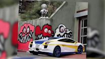 Chris Brown Claims Graffiti Outside Home is Constitutionally Protected