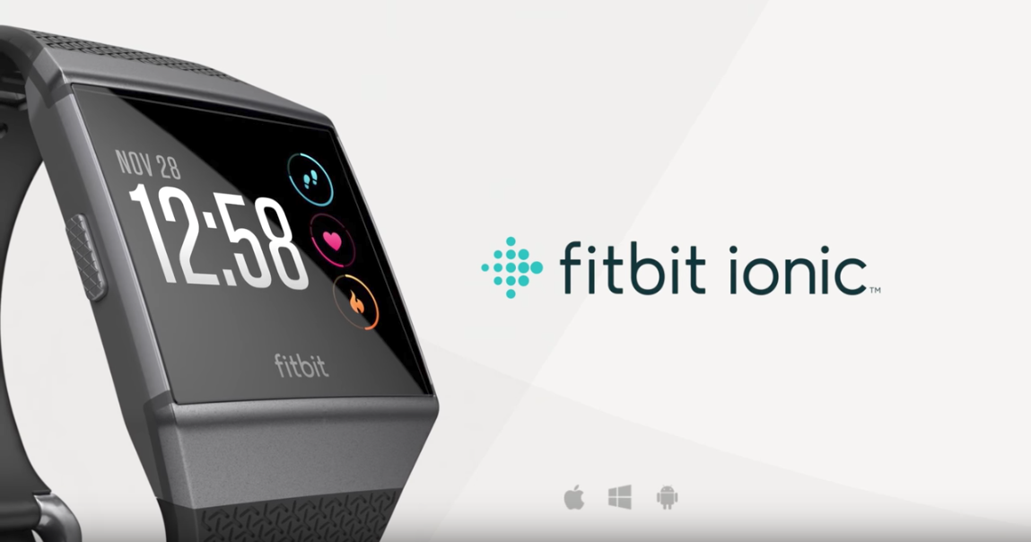 Fitbit's Ionic smartwatch is here to take on the Apple ...