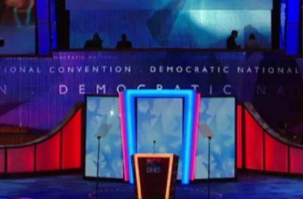 Panasonic HDTVs take center stage at Democratic National Convention