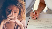 'Very tense': Bride-to-be's unusual surname dilemma