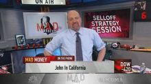 Cramer's sell-off strategy: This is a great opportunity t...