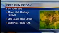 5am: Free Fun Friday events