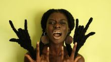 This woman creates African-inspired sculptures using nothing but her hair