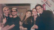 Ariana Grande Shares Cuddly Christmas Photo with Her Fiancé Dalton Gomez