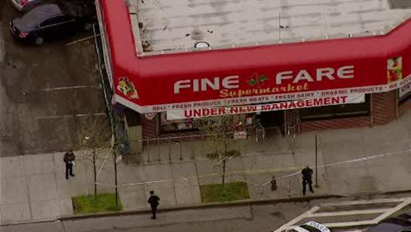 Worker shot inside Brooklyn supermarket